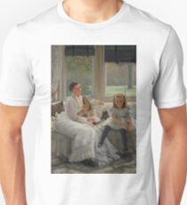 Portrait of Mrs Catherine Smith Gill and Two of her Children by James Tissot T-Shirt
