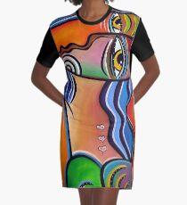 Pablo Picasso Graphic T-Shirt Dress