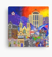 Downtown Roanoke by Brook Ludy Canvas Print