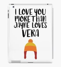 More than Jayne Loves Vera iPad Case/Skin