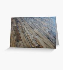 Hardwood Floor Greeting Card