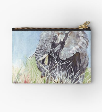 'Time to Retreat' - The Painting Zipper Pouch