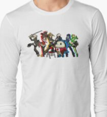 Persona 4 TWEWY style Long Sleeve T-Shirt