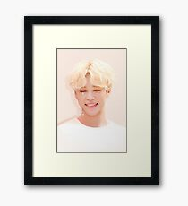 131017 Happy Jimin Day! Framed Print