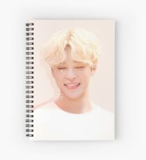 131017 Happy Jimin Day! Spiral Notebook