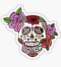 Sweet Sugar Skull Sticker