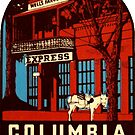 Columbia State Park California Vintage Travel Decal by hilda74