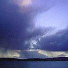 Storm at sea by wysiwyg