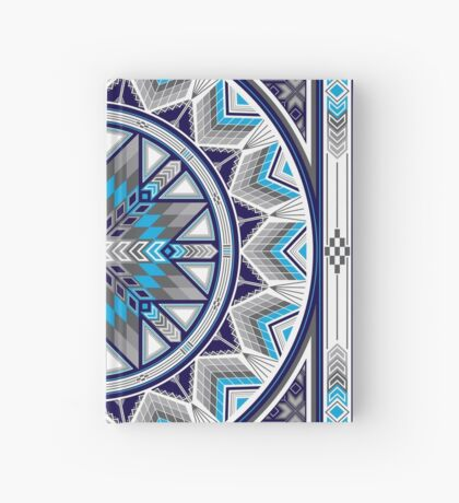 Sacred Places Blue  Hardcover Journal