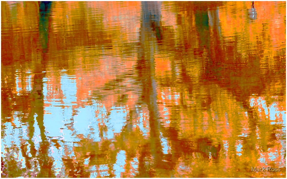 The Sailboat Pond #3 by Mark Ross