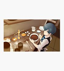 Young Lord Baking Photographic Print