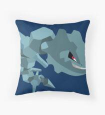 Steelix - 2nd Gen Throw Pillow