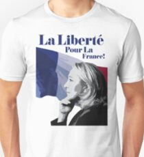 France's Marine Le Pen charged over funding scandal T-Shirt