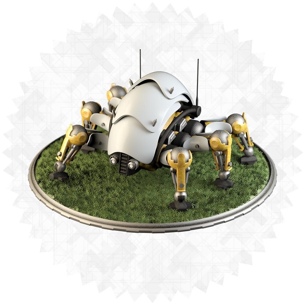 Robot Beetle by FelipeVera