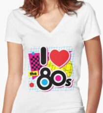 DetourShirts I Love the 80s Scoop Neck T-shirt for Women