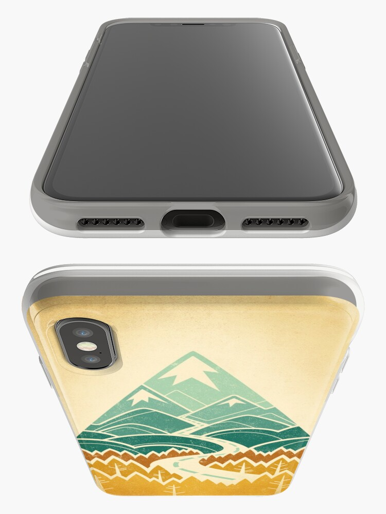 Alternate view of The Road Goes Ever On: Autumn iPhone Cases & Covers
