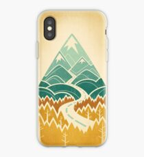 The Road Goes Ever On: Autumn iPhone Case