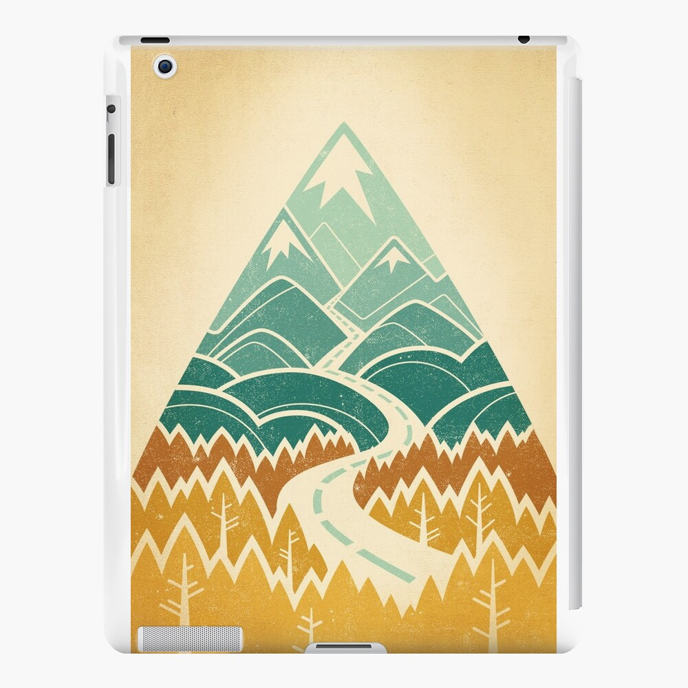 The Road Goes Ever On: Autumn iPad Cases & Skins