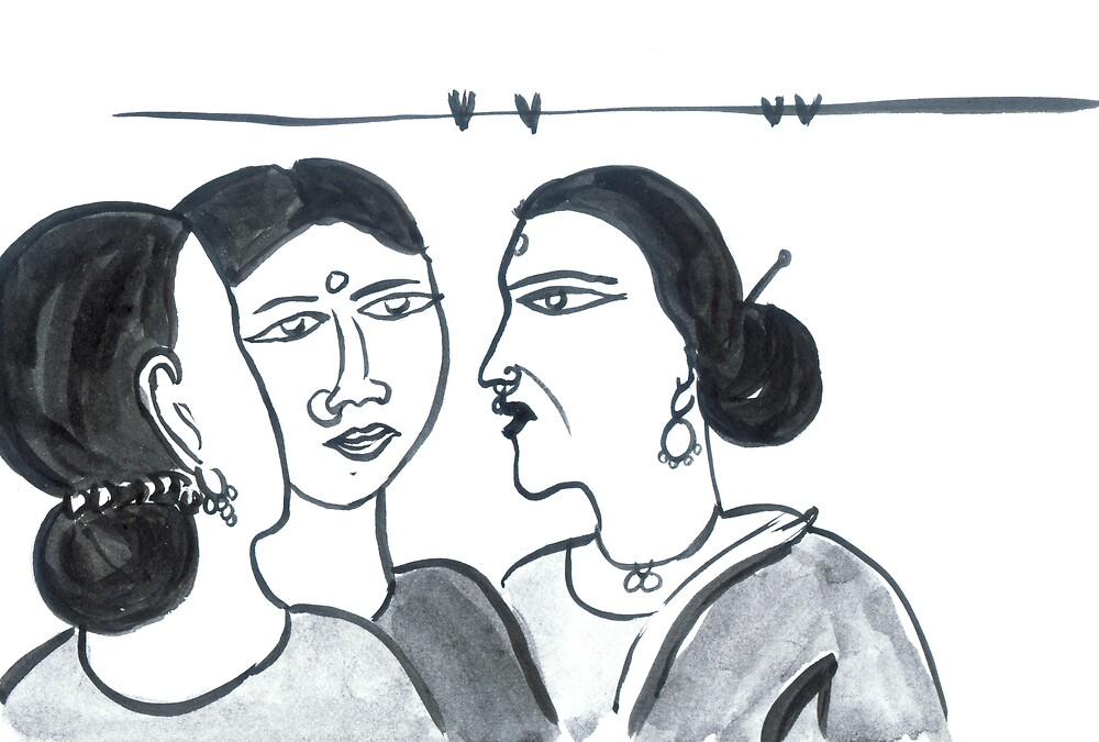 Gossiping..  by shadhin