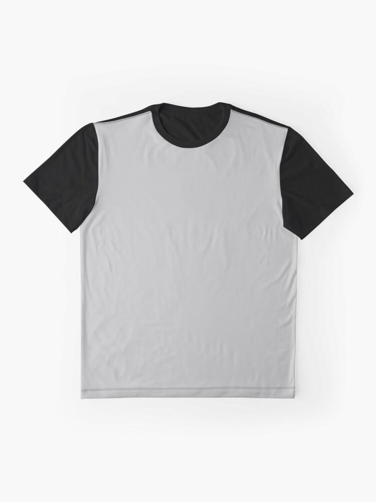 Alternate view of Beautiful Cushions/ Plain Silver Graphic T-Shirt