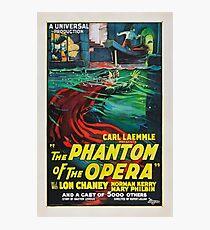 The Phantom of the Opera - Lon Chaney - 1925 - Poster Photographic Print