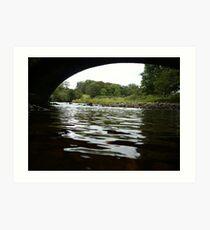 River Wyre Art Print