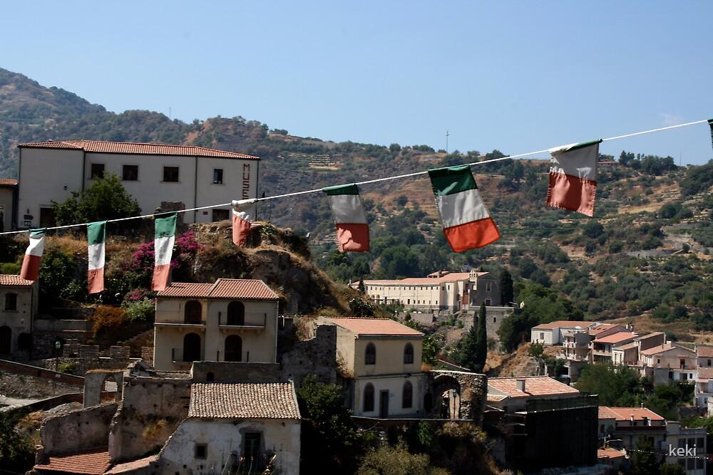 italian village by keki