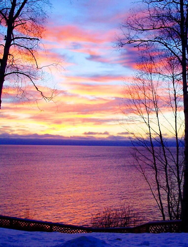 Sunrise on Superior by Braedene