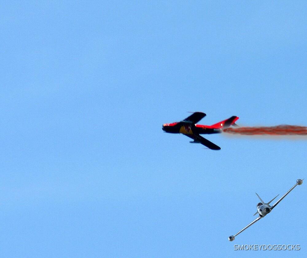 F-80 SHOOTING STAR KILLS MIG by SMOKEYDOGSOCKS
