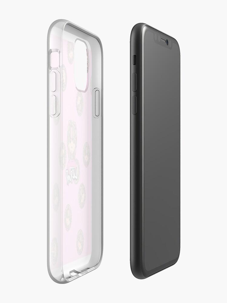 coque iphone 8 transparente silicone , Coque iPhone «Étui de téléphone Lil Pump», par Bradleyharmon