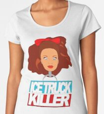 Based on the Tamiami Slasher  Women's Premium T-Shirt