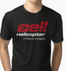 Bell Helicopter Tri-blend T-Shirt