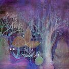 purple forest by Marianna Tankelevich