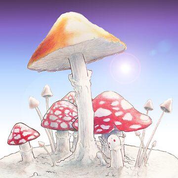 Mushrooms  by rimbaud3000
