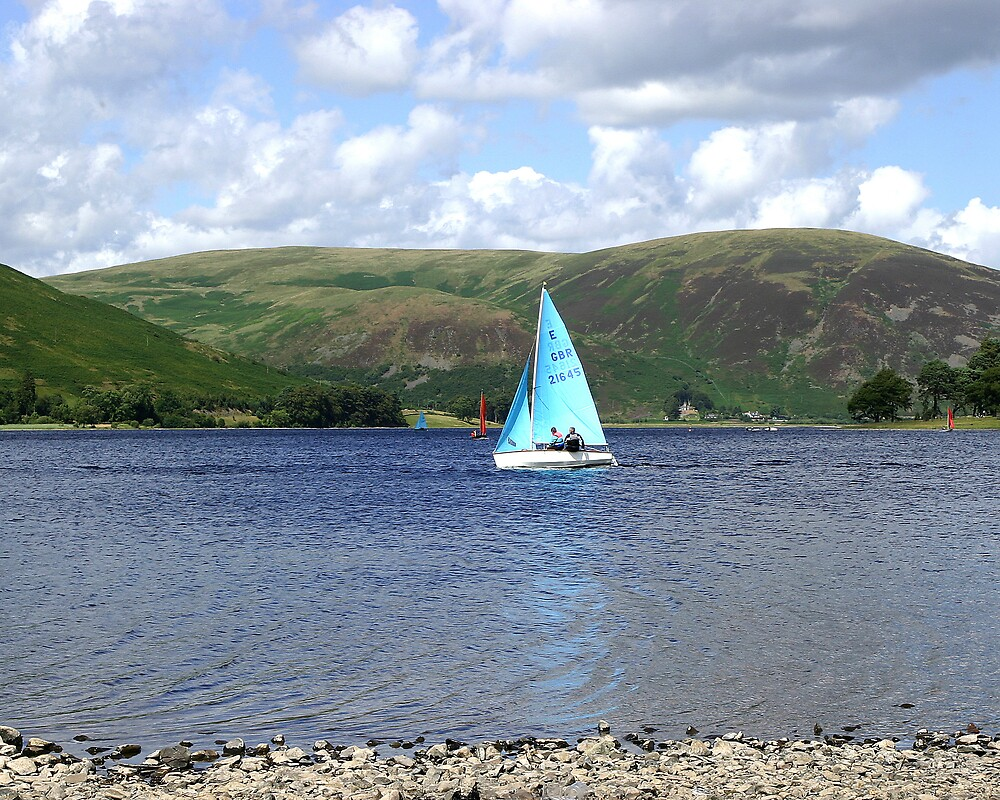 Sailing on St. Mary's Loch by dsargent