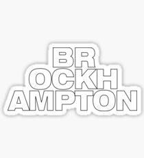 BROCKHAPTON stacked title Sticker