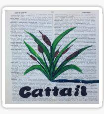 Cattail Sticker