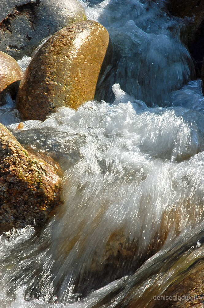 Tumbling water by denisegladwell