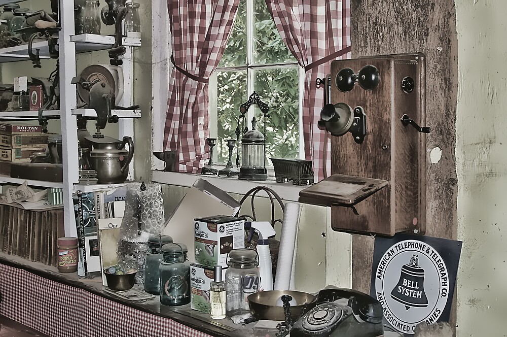 Yesteryear's Window by Patricia Montgomery