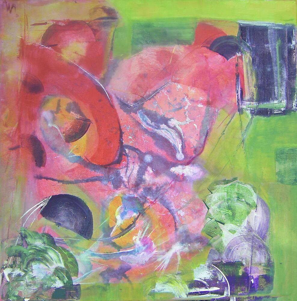 dancing flowers by Isabelle Nivet