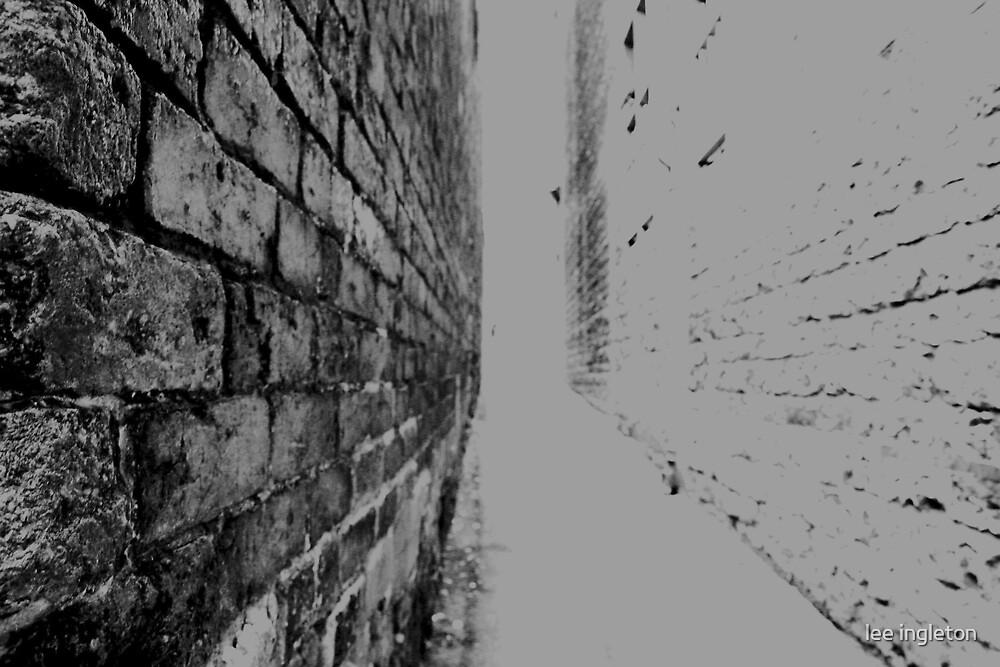 Brick wall by lee ingleton