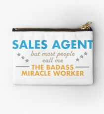 sales agent / miracle worker Studio Pouch