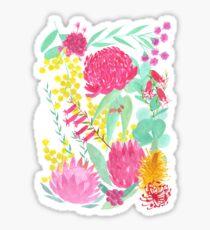 Australian Botanical Sticker