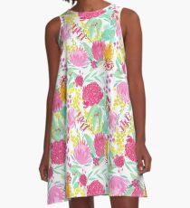 Australian Botanical A-Line Dress