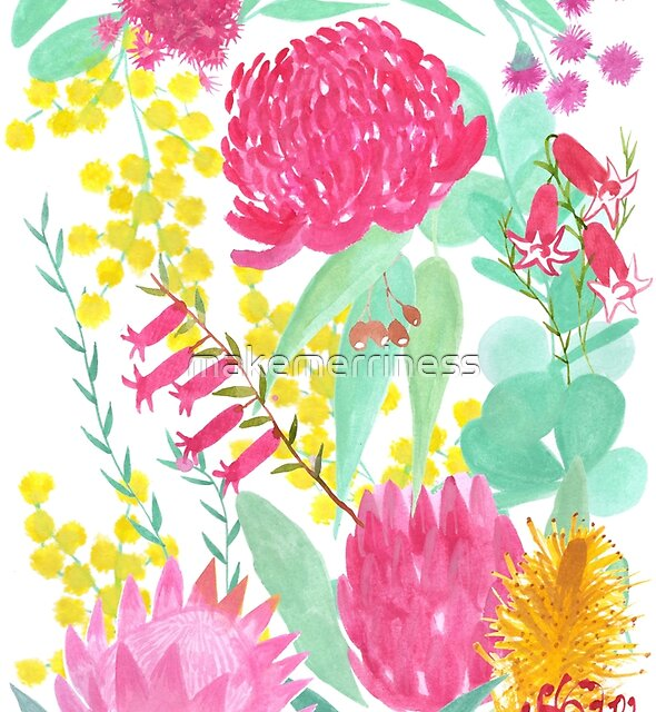 Australian Botanical by makemerriness