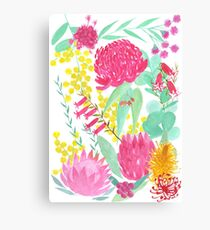 Australian Botanical Canvas Print