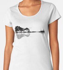 Nature Guitar Women's Premium T-Shirt