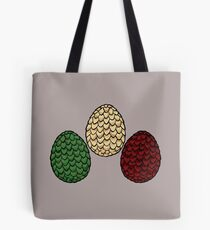 Game of Thrones dragon eggs Tote Bag