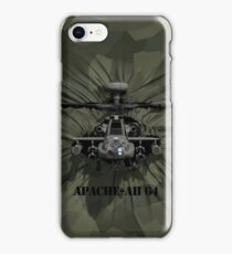 Apache AH-64 Helicopter iPhone Case/Skin