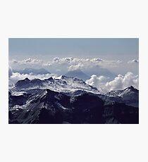 Heavenly view, Bernese Alps Photographic Print